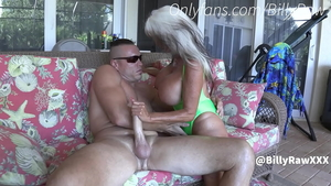 Dirty huge boobs supermodel taboo cheating in the pool