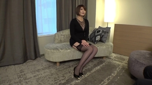 Toys large tits japanese in sexy stockings HD