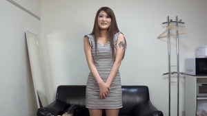 Japanese threesome after interview HD