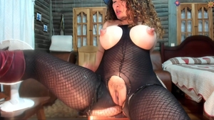 Loud sex in company with busty spanish MILF