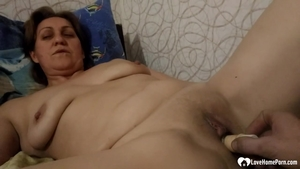 Pussy fucking accompanied by super hot MILF