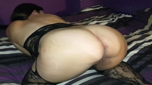 Raw sex in the company of big ass latina BBW