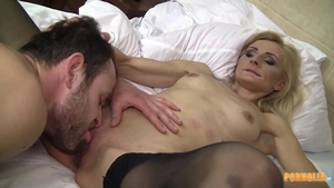 Real sex with petite blonde haired