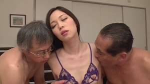 Rough nailing in company with hawt japanese MILF