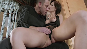 Raw real sex with large tits MILF