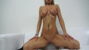 Sex with toys at castings bubble butt czech HD