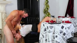 Blonde Britney Amber goes for hard ramming