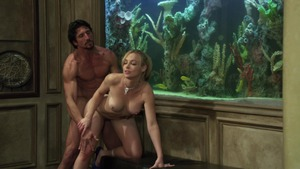Hard pounding together with girl Kayden Kross