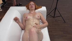 Rough real sex along with very sexy redhead