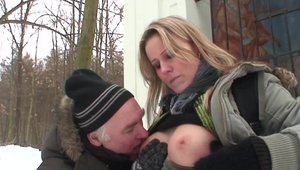 Hottest Julia Ann homemade fucked all the way outdoors