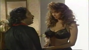 Hairy british babe being fucked by Ron Jeremy