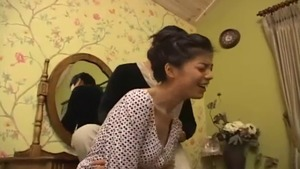 Large tits korean brunette doggy fucking at the casting