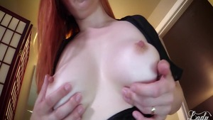 Pussy fucking scene next to large tits steamy Lady Fyre